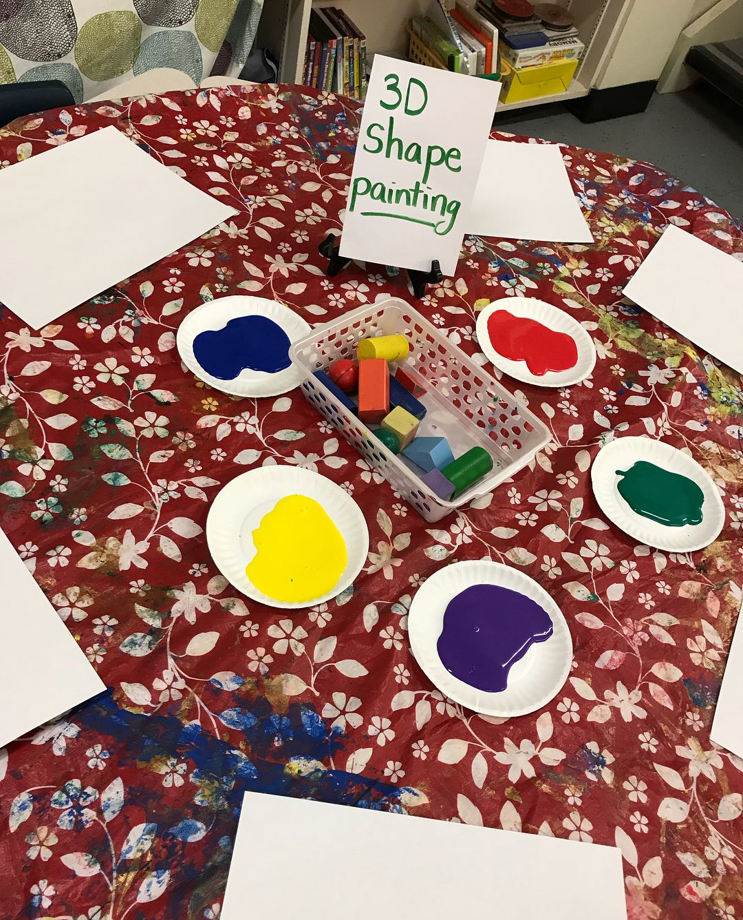 Everything Shapes 1 Painting With 3d Blocks