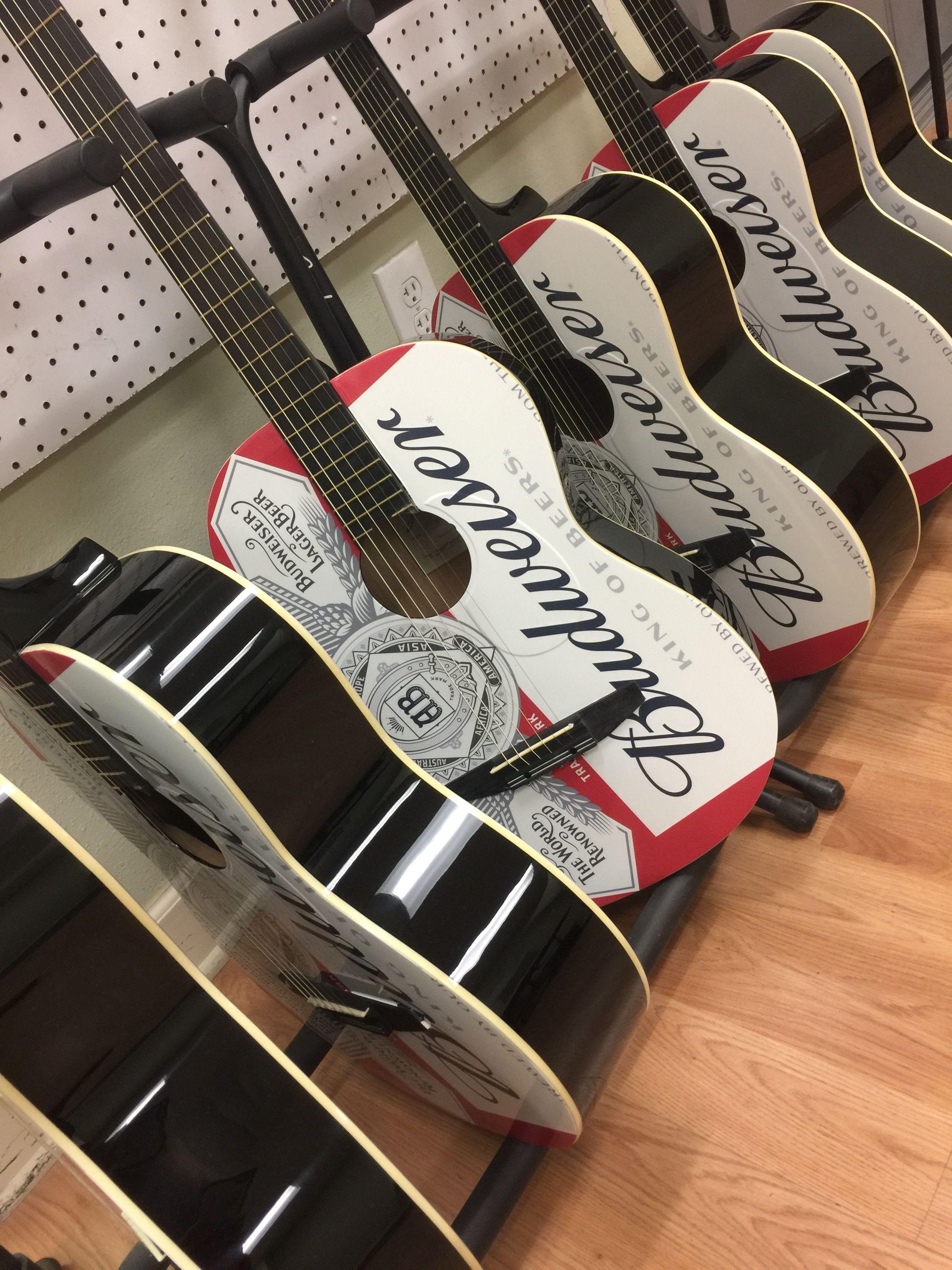 custom promotional guitars by brand o 39 guitar company promotional beverage branded guitar. Black Bedroom Furniture Sets. Home Design Ideas