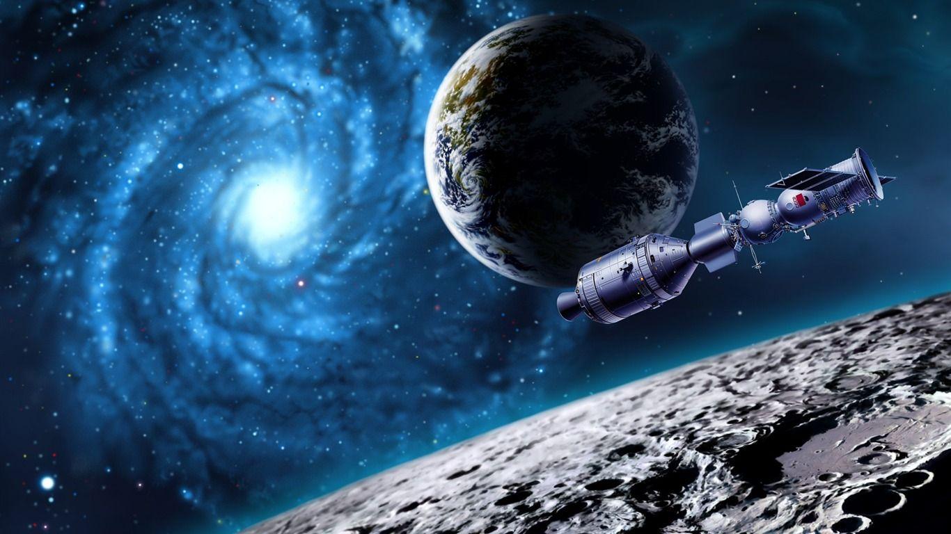 11 Cg Illustrateur Espace Univers Planetes Terre Par Satellite Image Galaxie 1366x768 Fond D Ecran Telecharger Space Art How The Universe Works Hd Space