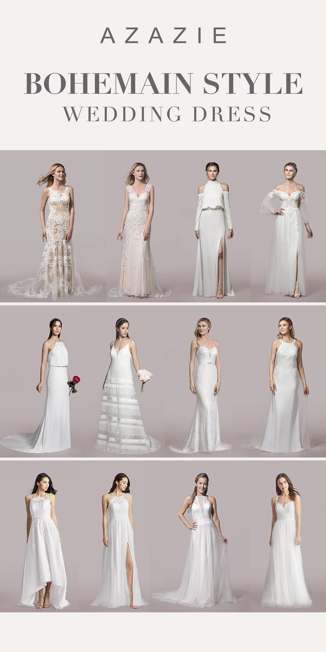 A Boho Wedding Dress Is A Modern And Elegant Choice Bohemian