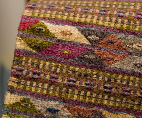 Weaving Inspiration - Oaxacan Weft-Faced   How to clean carpet, Clean wool  rug, Wool area rugs