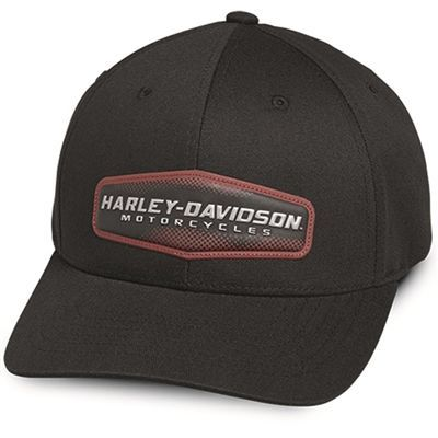 4ea31f9390f Harley-Davidson High Density Print Adjustable Baseball Cap   AddictedToHarleyDavidson