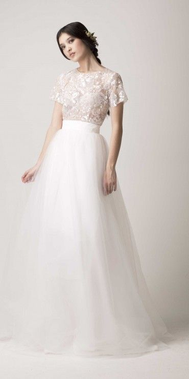 This Is A Short Dress That Comes With Long Skirt So You Can Take Wedding SeparatesTwo Piece
