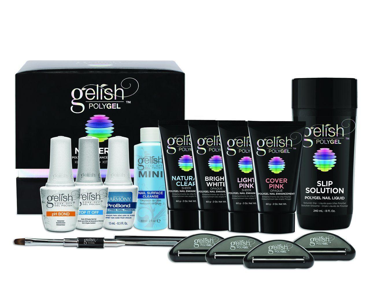 Harmony Gelish Poly Gel Master Kit Nail Kit Gelish Polygel Nail Harmony