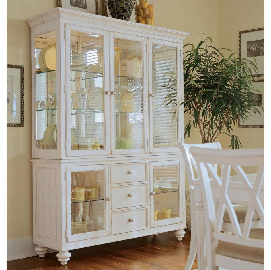 Riveting Dining Room Cabinets Design Of Clear Tempered Glass Shelves Also White Door Display Cabinet