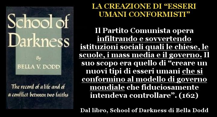 #comunismo #ChiesaCattolica #infiltrazioni https://newsinfoalternativa.wordpress.com/2016/08/13/il-comunismo-e-il-nuovo-ordine-mondiale-la-frode-utopistica-di-wall-street-school-of-darkness-di-bella-dodd/