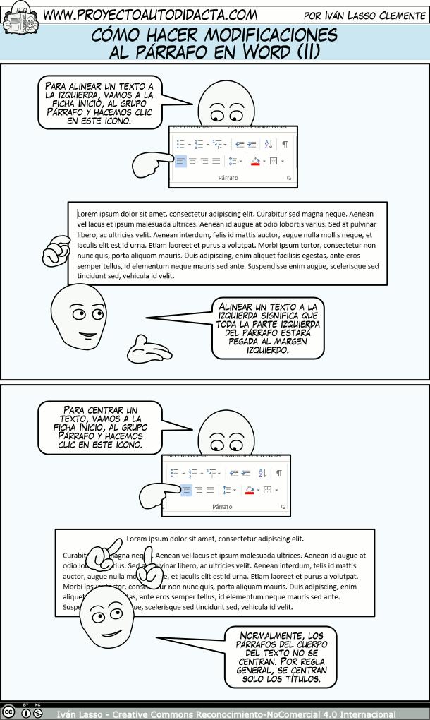 Cómo Hacer Modificaciones Al Párrafo En Word Parte 1 Clase De Informática Informatica Y Computacion Computacion