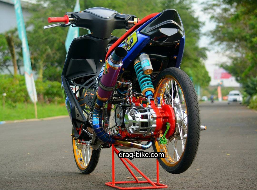 Modif Mio Soul Drag Racing Drag Racing Mobil Sport Pembalap