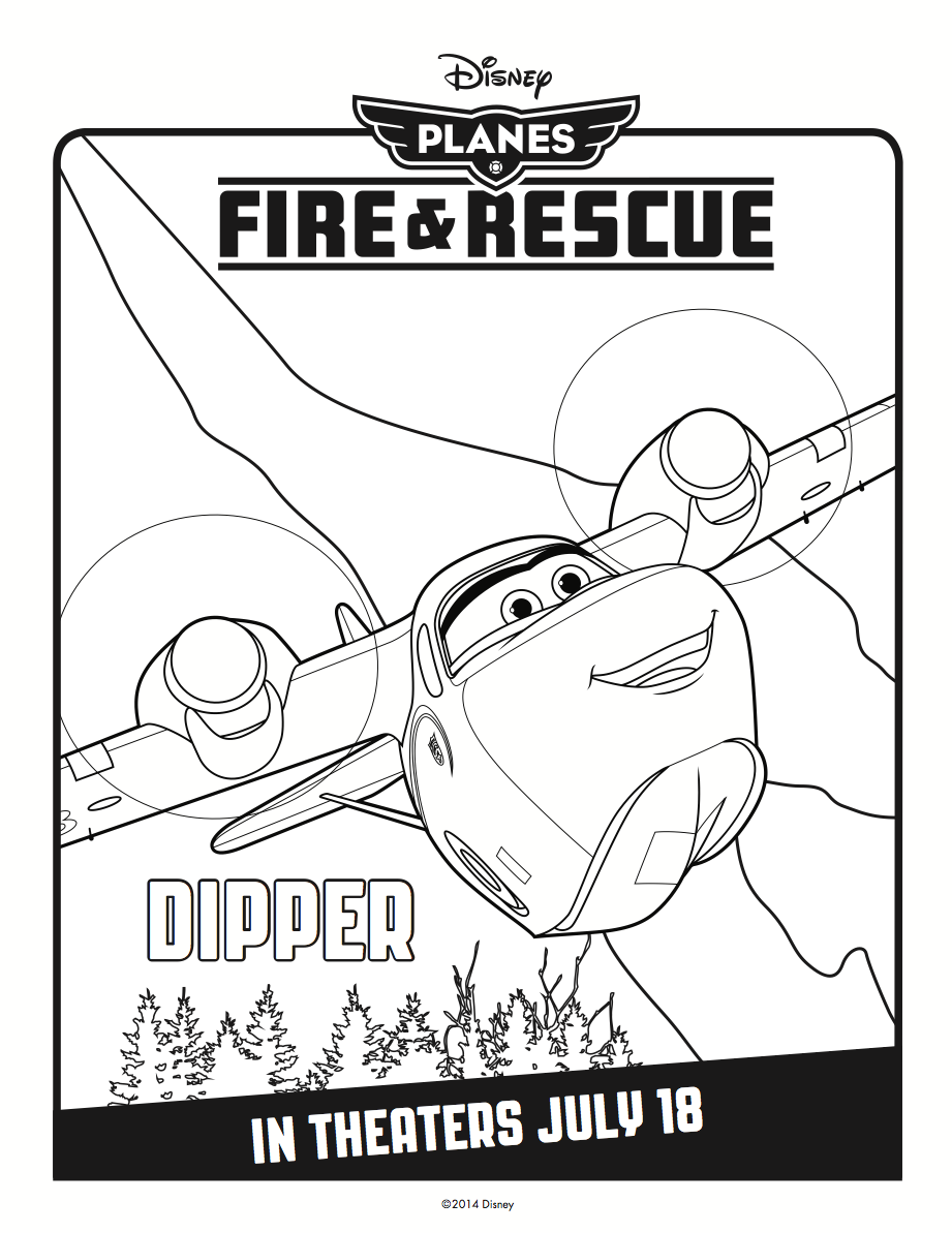 Dipper Coloring Page | ✏Mrs. Contreras\' Class ✏ | Pinterest