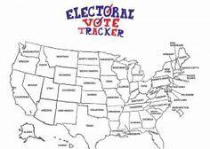Free Electoral College Map Electoral College Map Electoral