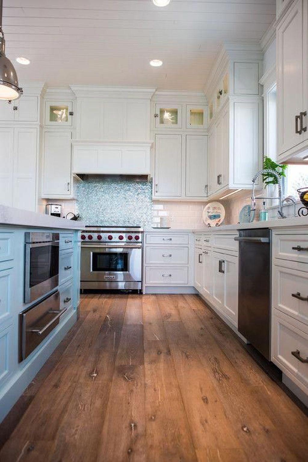 20 Elegant Beach Coastal Style Kitchen Decor Ideas Kitchen