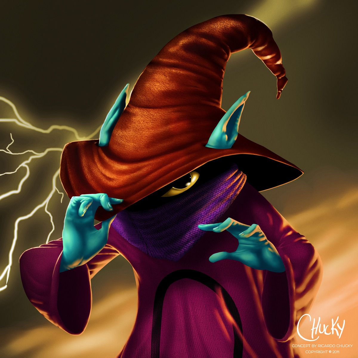 Orko from He Man and the Masters of the Universe