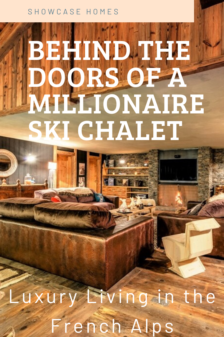 Luxury Ski Chalet in the French Alps This chalet has seven ensuite bedrooms wi