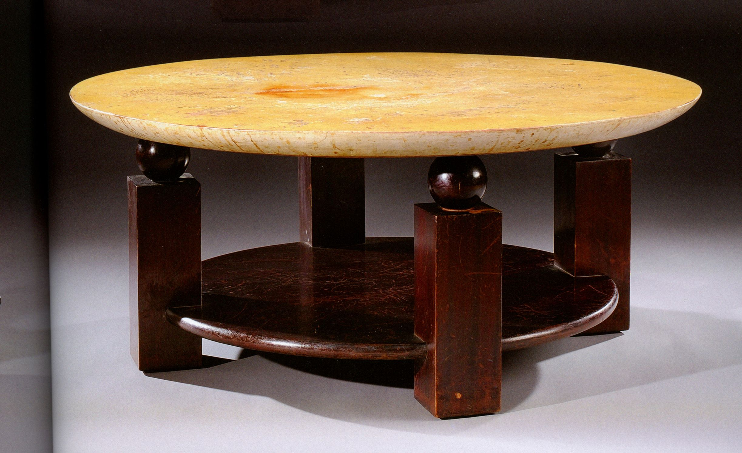 Christian Krass Coffee Table Art Deco Console Table French Art Deco Furniture Leather Coffee Table [ 1494 x 2446 Pixel ]