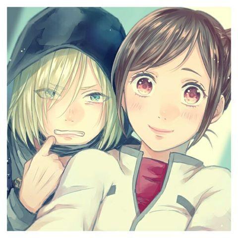 YOI. Yurio needs a mom, and that mom is Yuko.