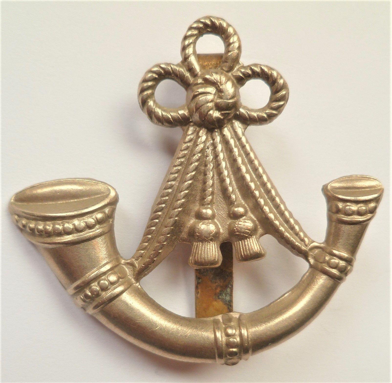 Ox and Bucks Light Infantry Cap Badge British Army