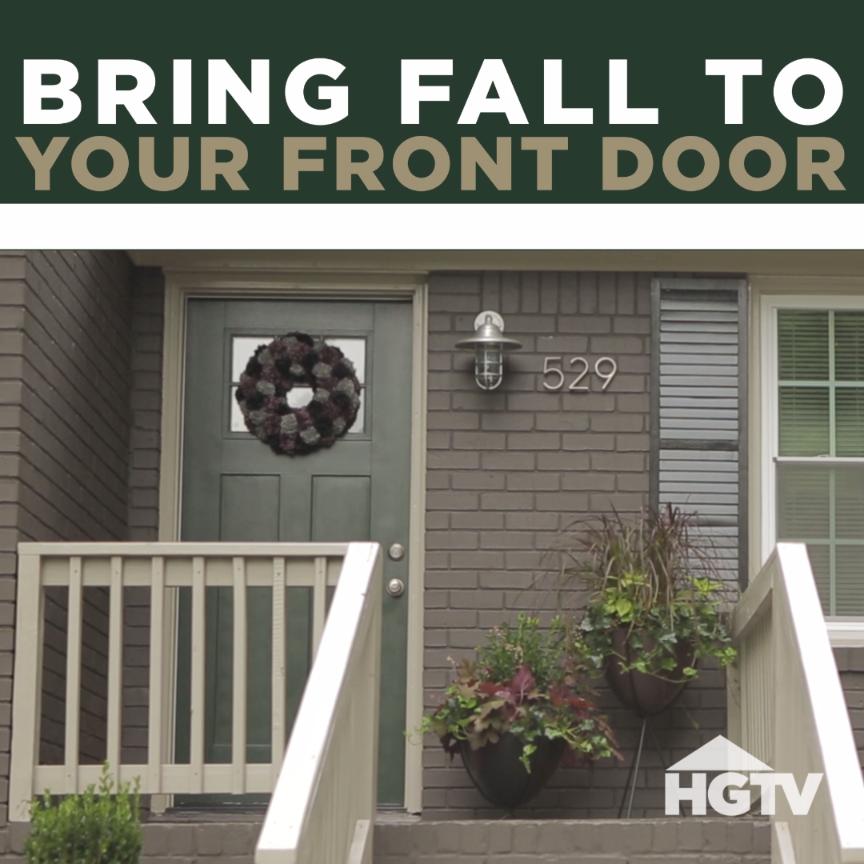 Hgtv Front Door Fall Decorations