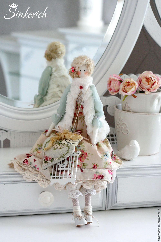 Купить Моника - тильда, кукла ручной работы, кукла интерьерная, кукла текстильная, кукла Тильда