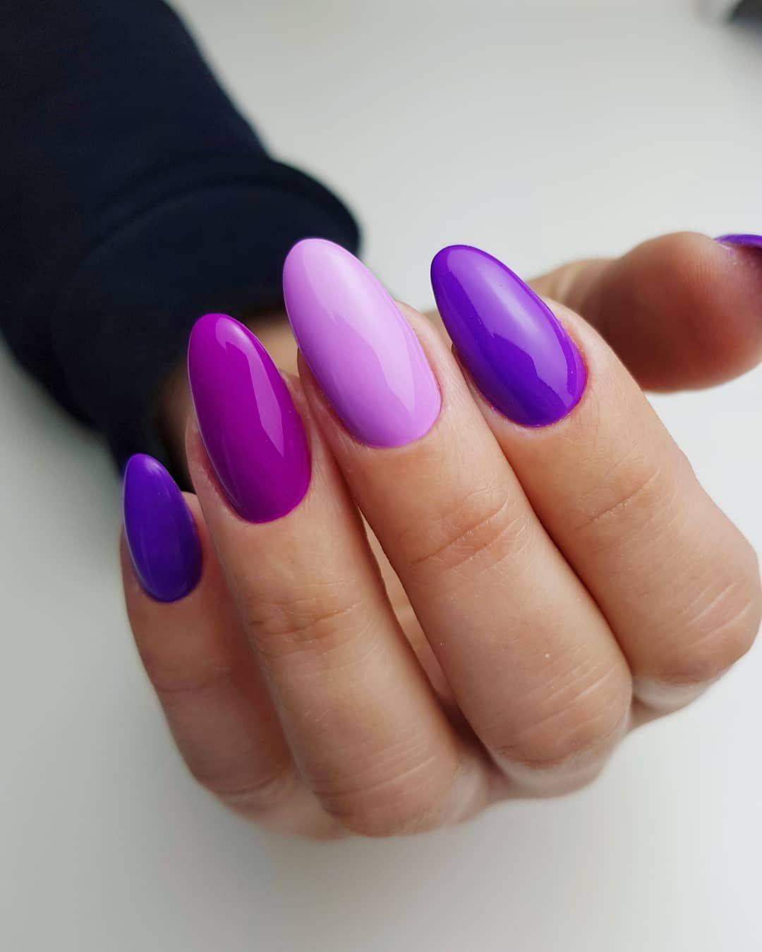 Mix Kolorow Ultraviolet Bombastic Figo Fago Na Pazurkach