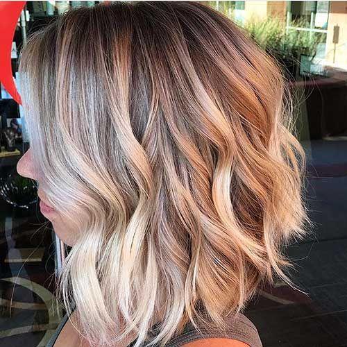 14 Super Kurze Gewellte Haare Kurze Haare Wellen Frisur Dicke Haare Frisuren Fur Welliges Haar