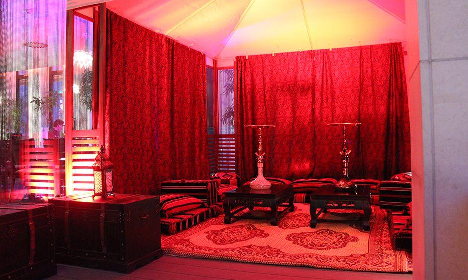 Im Scandic Hotel wird auch dieses Jahr ein Firmen-Event gefeiert. Hier darf natürlich auch unser Shisha Service nicht fehlen.
