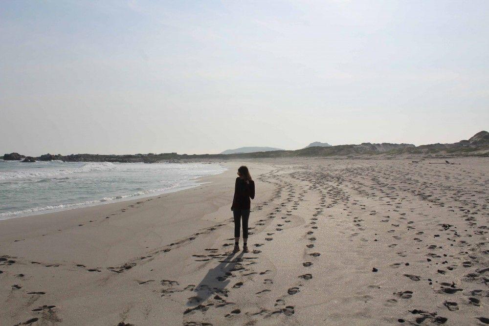 I like long walks on the beach west coast national park
