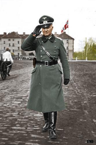 German officer salute Coloured War Pinterest German