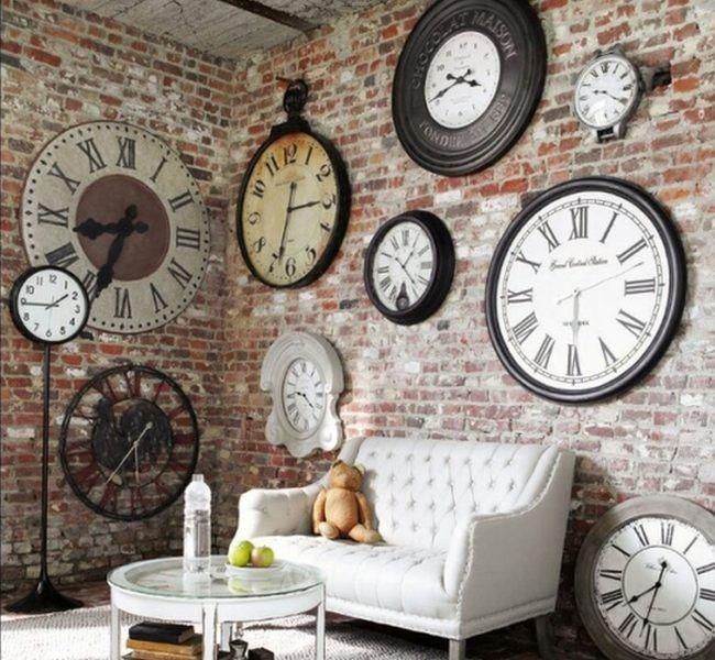 Matando el tiempo relojes antiguos para todos los gustos decoracion de casas peque as reloj Relojes de decoracion