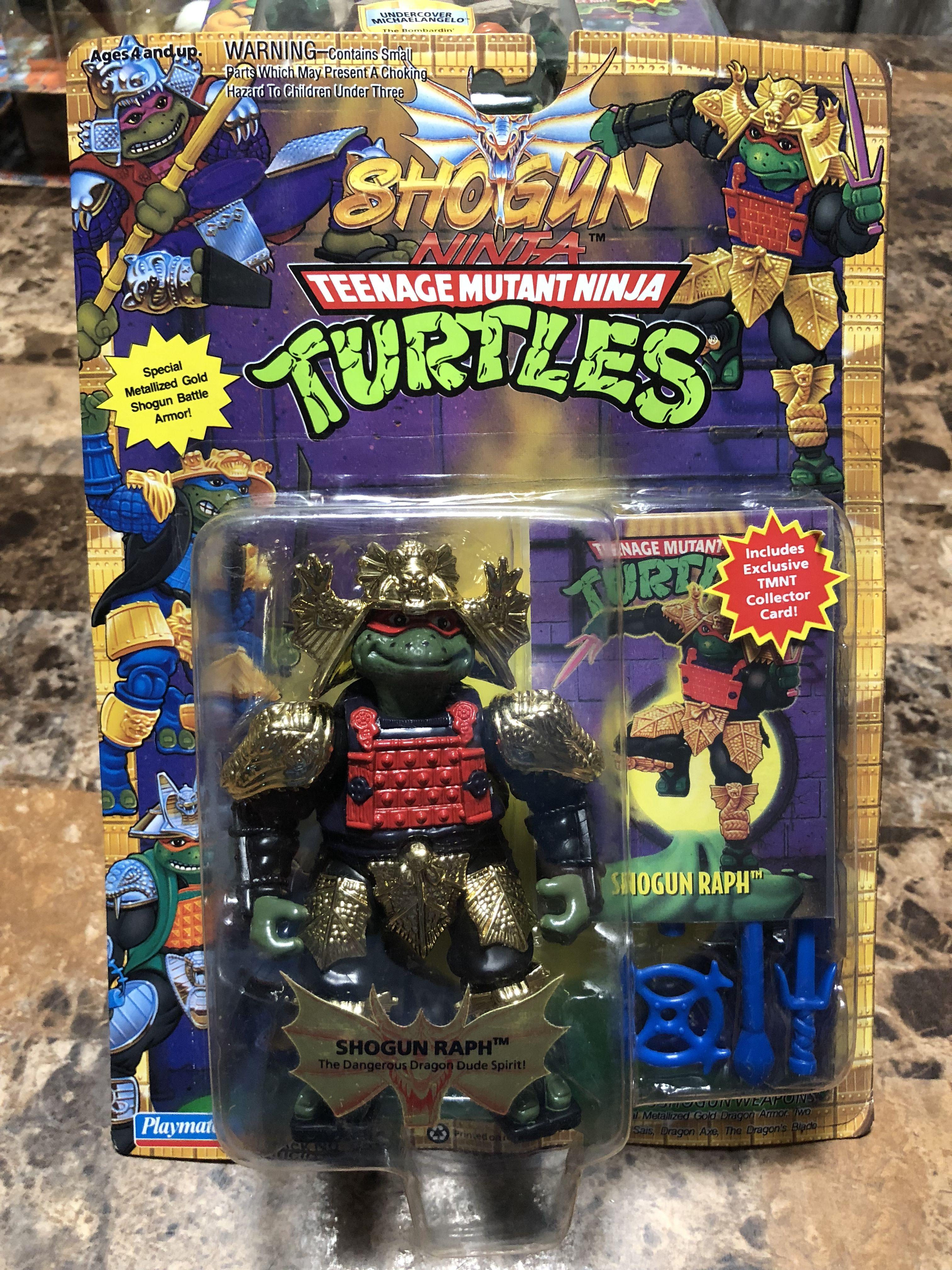 Gold Armor Shogun Raph 250 Teenage Mutant Ninja Turtles Toy Tmnt Ninja Turtle Toys