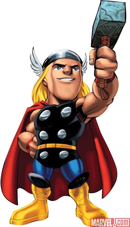 Marvel Super Hero Squad Thor Super Heroi