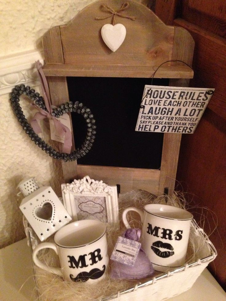Mr and mrs wedding gift hamper gifts pinterest wedding gift mr and mrs wedding gift hamper solutioingenieria Gallery