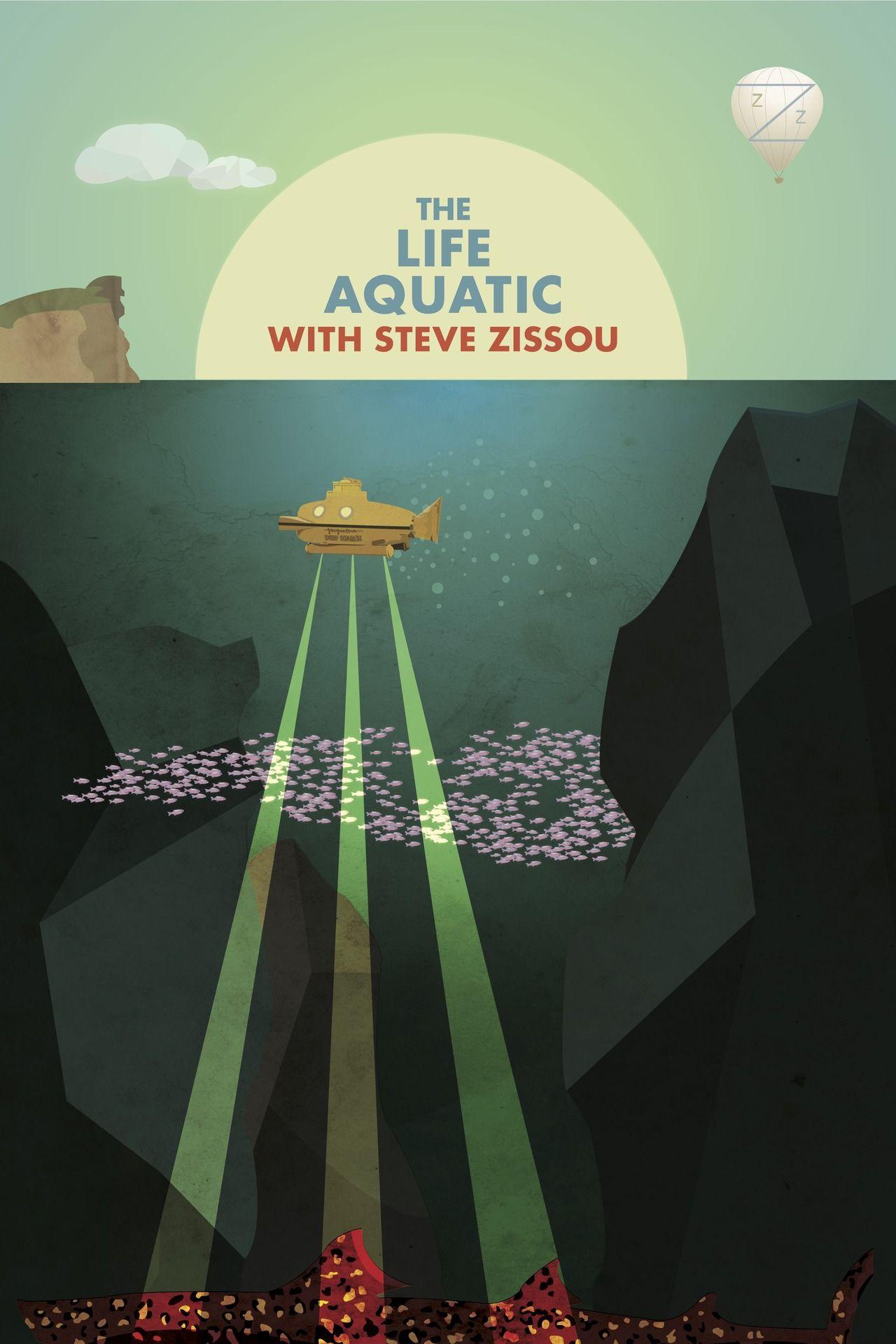The Life Aquatic Adobe Illustrator CS6 Afsoon Zizia ...