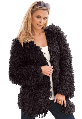 27b7c8e4b66  99.19 awesome Denim 24 7 Women s Plus Size Loop Cardigan
