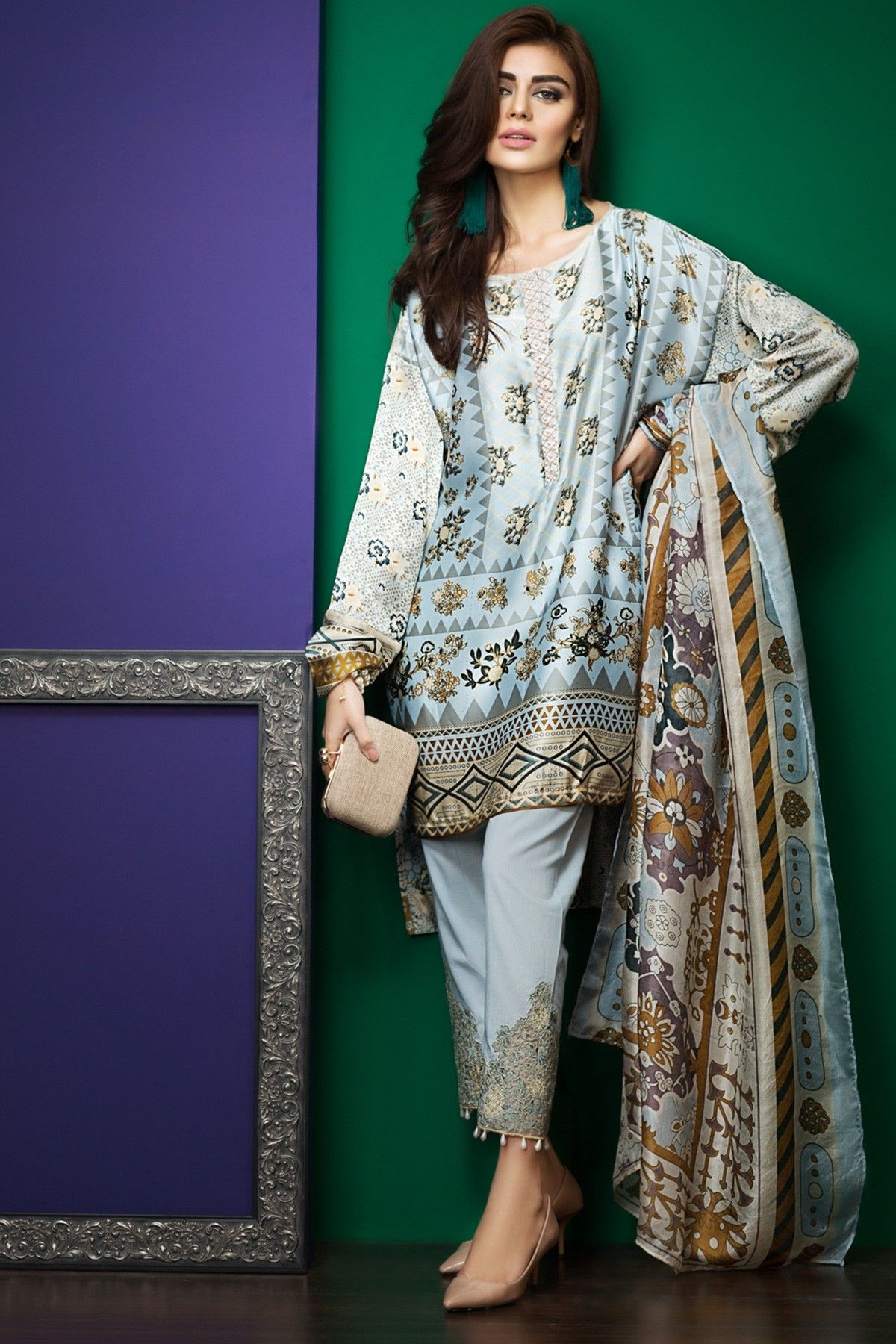41111d8e9ee9b Khaadi Latest Summer Lawn Dresses Designs Collection 2019   Dresses ...