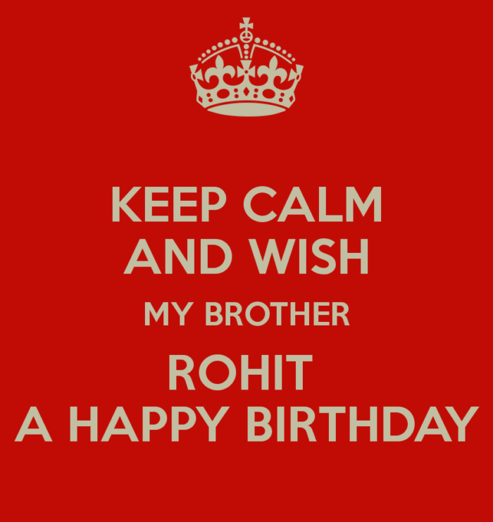 [Updated] Happy Birthday Rohit Cake Images, Status, Song