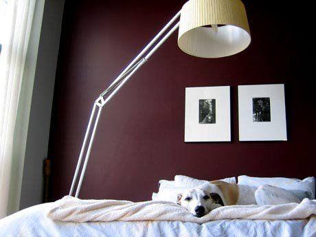 Paint Color Portfolio: Burgundy Bedrooms