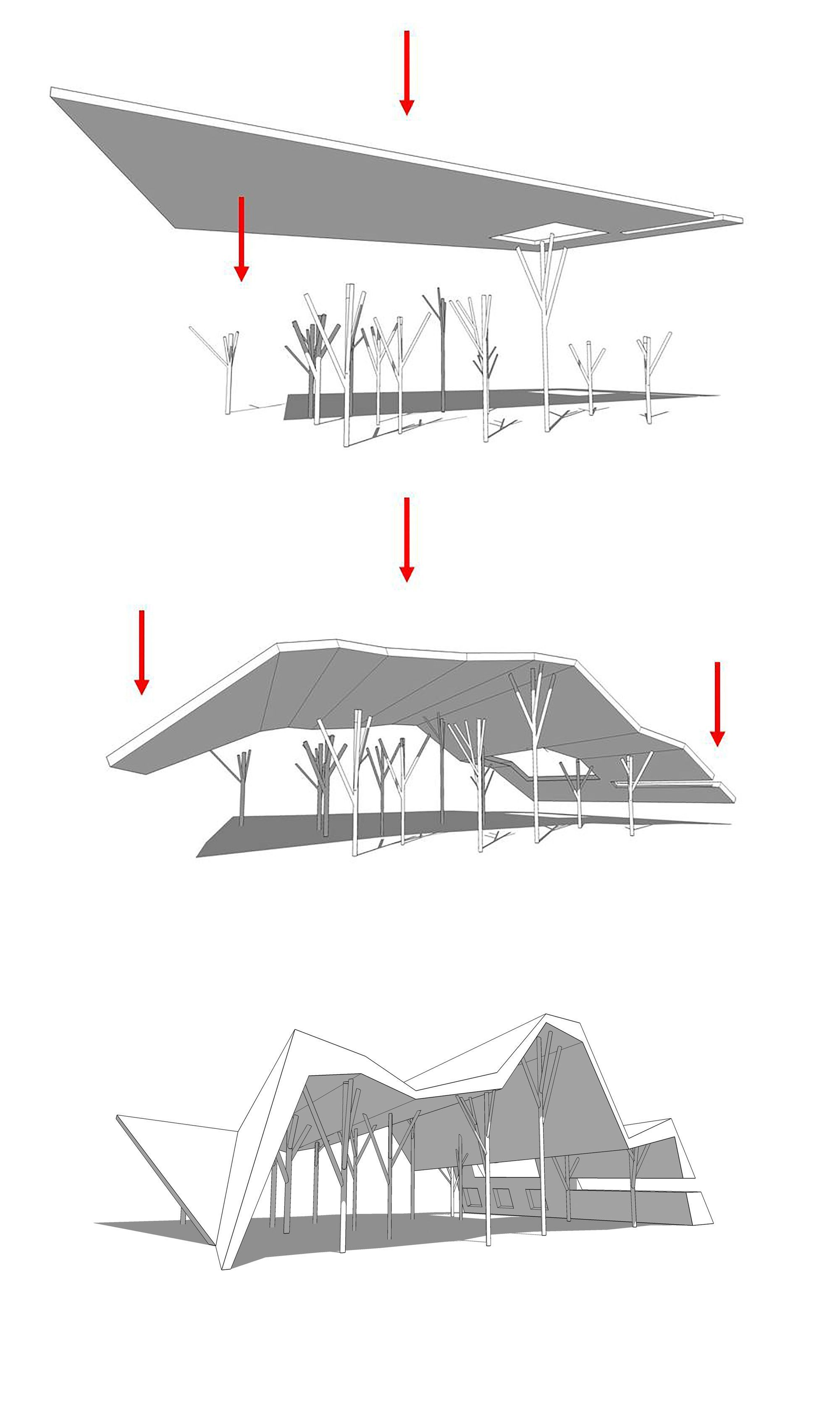 Open-Sided Shelter / Ron Shenkin Studio #OpenSided #Ron #shelter #shenkin #sided #studio