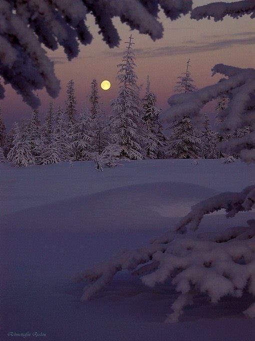 французский гифка ночь зима расположение замка скрыто