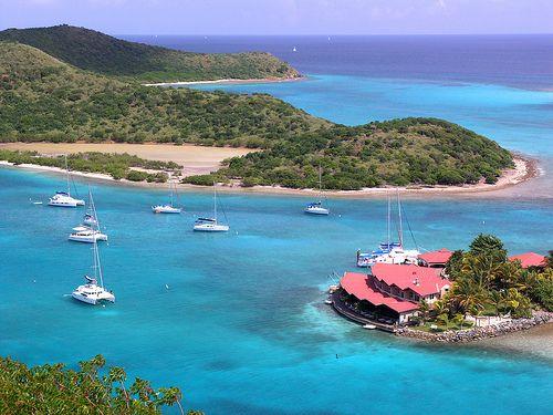 Wedding Venues  Locations on Saba Rock Peter Island Guana