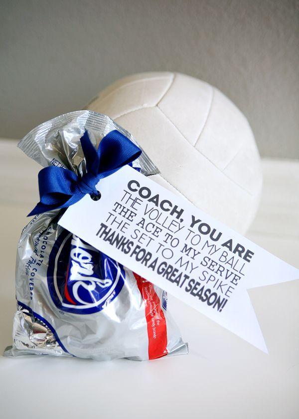 e7683696e52e Volleyball Coach Gift Tags - free printable