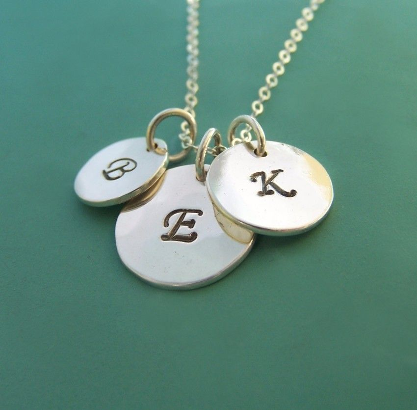 13+ Letter necklace silver argos trends