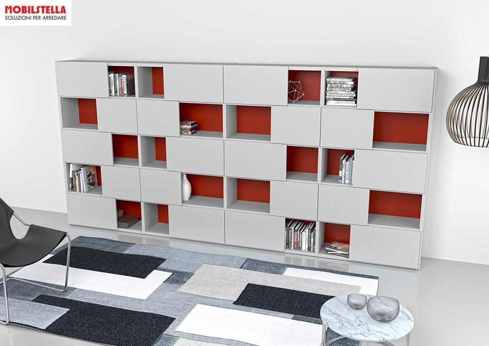 bibliotheque avec portes