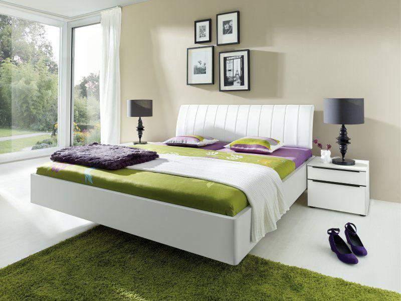 Bett mit Schwebeoptik von Nolte - Möbel Mit wwwmoebelmitde