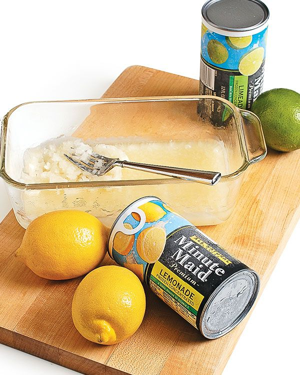 Make Your Own Frozen Citrus Concentrate