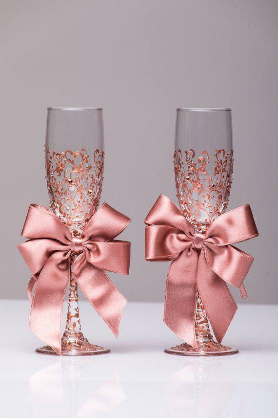 Hochzeit Brille Rose Gold personalisierte Brille Laser Rose | Etsy   - deko - #Brille #deko #Etsy #Gold #Hochzeit #Laser #personalisierte #Rose #personalizedwedding