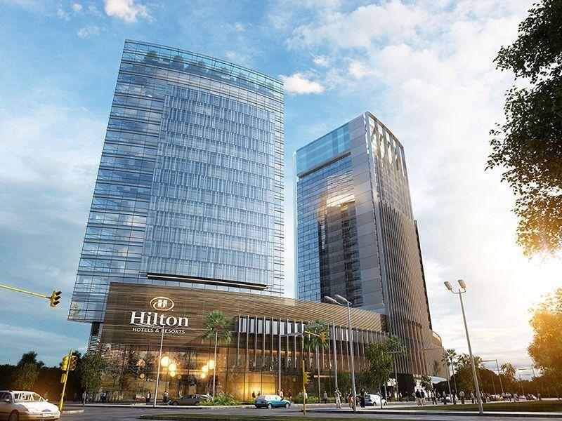 Asunci n l hotel hilton l pro skyscrapercity oh for Design hotel douala