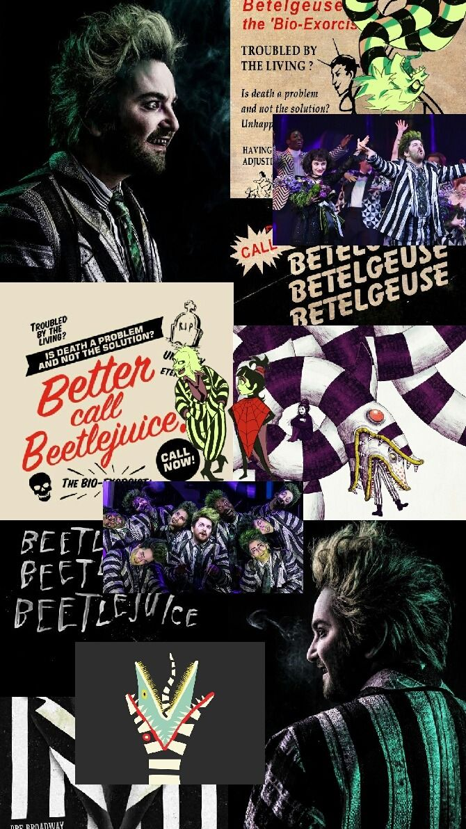 Beetlejuice broadway wallpaper Tumblr Musical