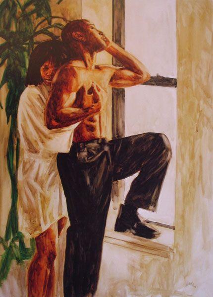 Point No 5 Welcome Black Art African American Art Black Love Art
