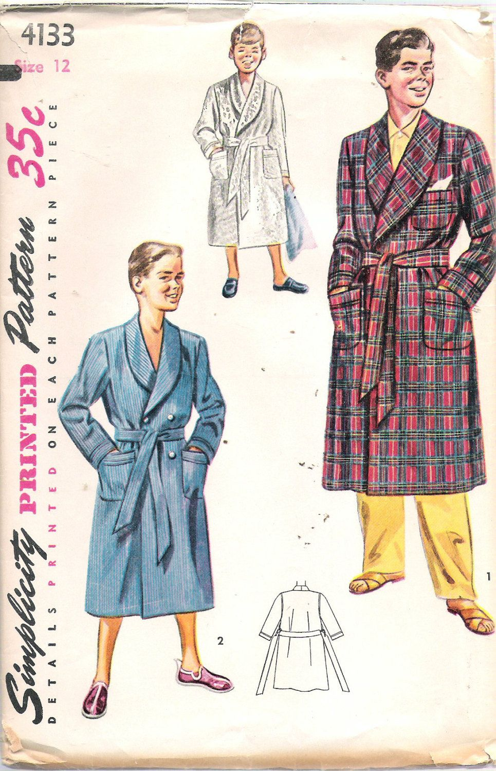 Robe Sewing Pattern Custom Design Ideas