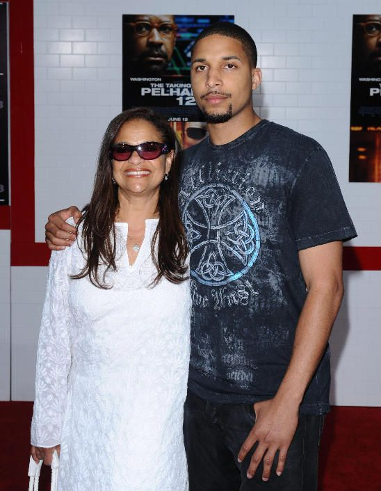 Debbie Allen And Son Norm Nixon Jr Celebrity Families